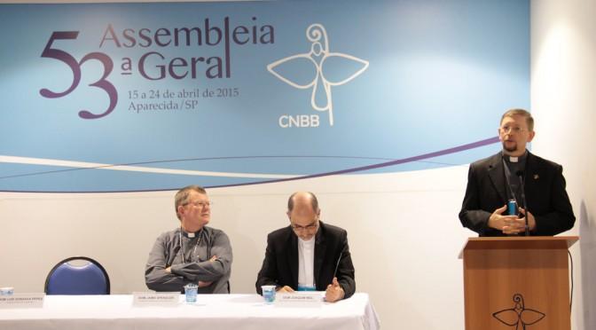53.ª Assembléia Geral da CNBB: bispos debatem conjuntura social e eclesiástica