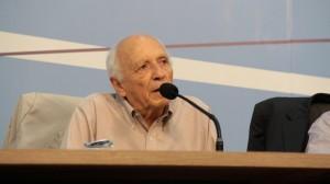Rubens Ricupero fala sobre conjuntura social à 53.ª Assembléia Geral da CNBB. Foto: CNBB.