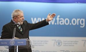 Ex-presidente Lula discursa na abertura da conferência anual da Organização das Nações Unidas sobre Alimentação. (Foto: Ricardo Stuckert/Instituto Lula)