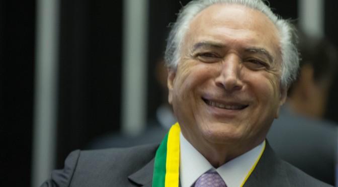 Michel Temer envia carta a Dilma