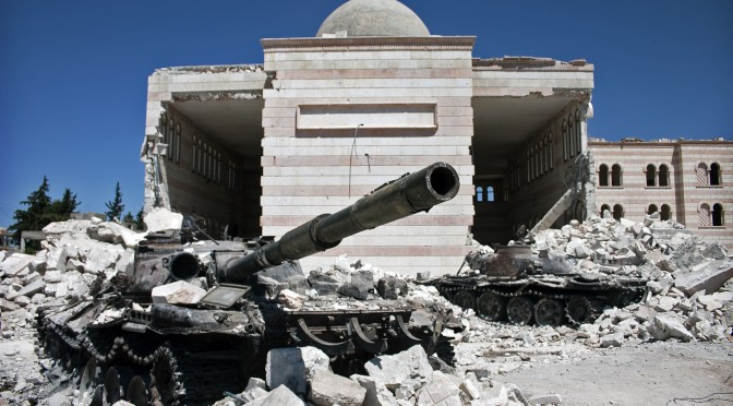 Guerra no Oriente Médio recrudesce