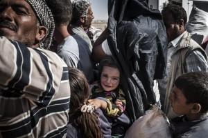 Refugiados síros na Turquia.