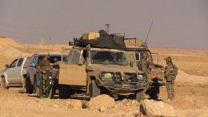 Forças especiais americanas na batalha por Raca, na Síria. (Foto: isis.liveuamap.com)