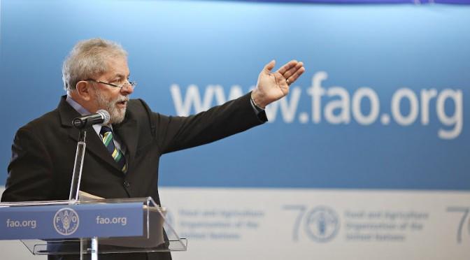 Distribuição de renda e desenvolvimento humano na conferência da FAO