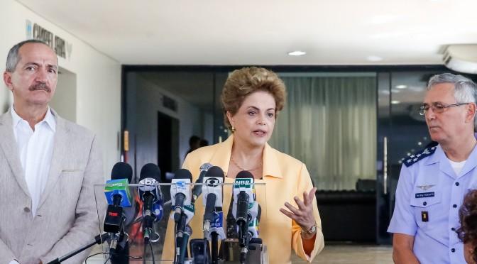Dilma: ministérios continuam como estão