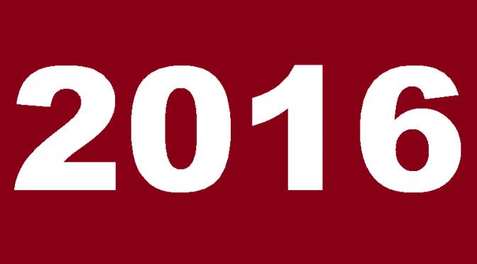 Balanço de 2016