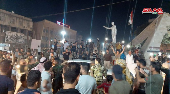 Curdos e governo sírio entram em acordo