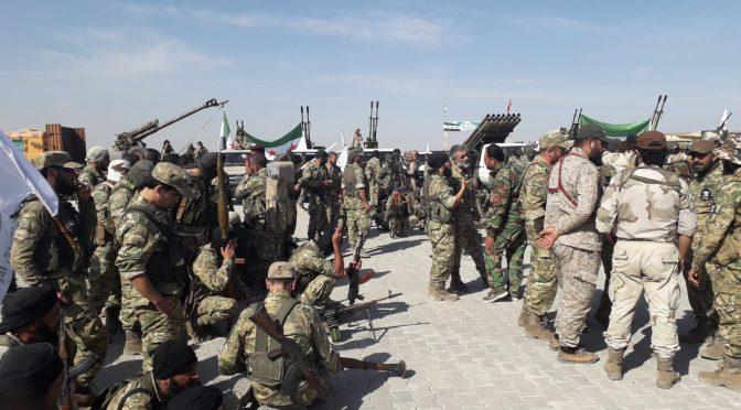 EUA entregam território sírio à Turquia