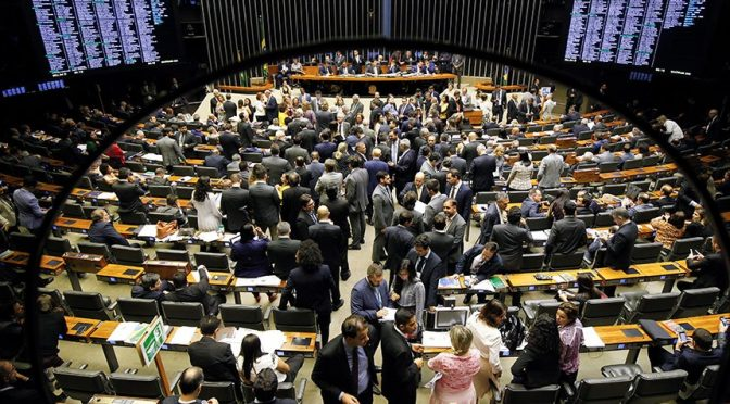 Foto de sessão do Congresso Nacional